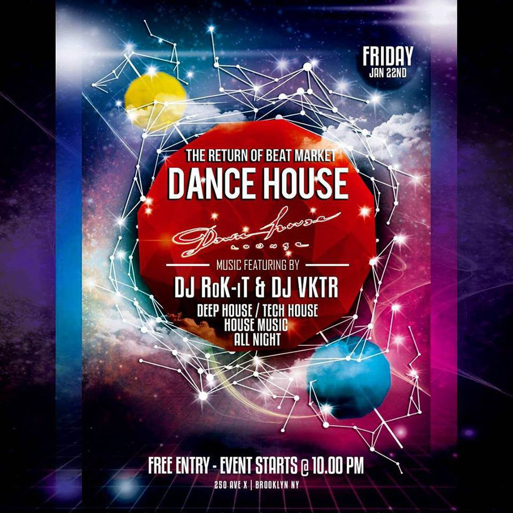 HOUSE MUSIC FRIDAYS | Dance House in New York - Buy tickets online